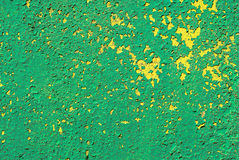 Chipped paint on iron surface texture background Royalty Free Stock Photos