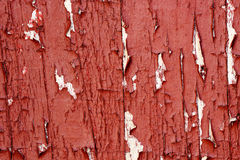 Chipped paint. Macro of old wooden surface with chipped paint Royalty Free Stock Photo