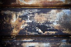 Chipped paint rusty textured Royalty Free Stock Images