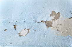 Chipped paint wall Royalty Free Stock Images