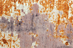 Chipped rusty metal Royalty Free Stock Photography