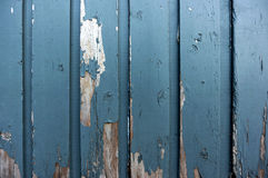 Chipped Wood. Chipped and worn painted wood panel Royalty Free Stock Photos