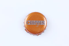 Chipper bottle cap Stock Images