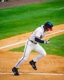 Chipper Jones, Atlanta Braves 3B Stock Afbeelding