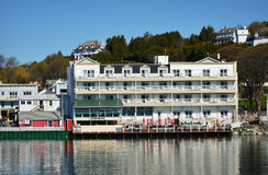 Chippewa Hotel Mackinac Island stock photo