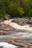 Chippewa River and Falls Royalty Free Stock Photo
