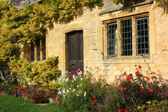 Chipping Campden Cottage Detail Stock Image