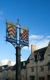 Chipping Campden town sign Royalty Free Stock Photo