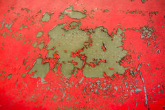 Chipping paint  on steel Royalty Free Stock Images