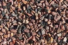 Chippings гранита используемые как субстраты Стоковая Фотография RF