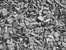 chippings деревянные Стоковое фото RF