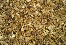 chippings деревянные Стоковое Фото