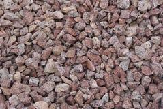 Chippings da pedra decorativa Foto de Stock Royalty Free