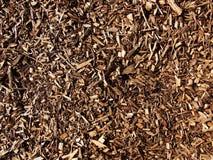 Chippings de madera Fotografía de archivo libre de regalías