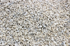 Chippings and gravel of marble and sandstone colored. All Royalty Free Stock Image