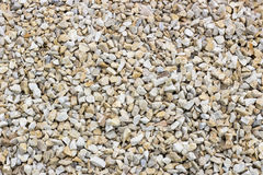Chippings and gravel of marble and sandstone colored. All Royalty Free Stock Photography