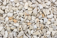 Chippings and gravel of marble and sandstone colored. All Stock Images