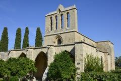 Chipre, abadía de Bellapais Foto de archivo