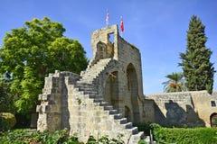 Chipre, abadía de Bellapais Fotografía de archivo