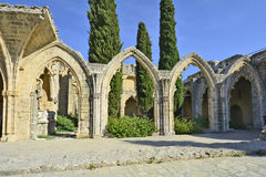 Chipre, abadía de Bellapais Imagenes de archivo