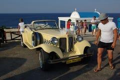 Chipre, baía de Sund foto de stock