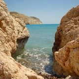 Chipre entre las rocas Imagenes de archivo