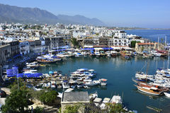 Chipre, Kyrenia Fotos de Stock Royalty Free