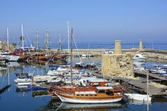 Chipre, Kyrenia Imagen de archivo libre de regalías