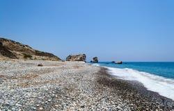 Chipre 2011 Roca del Aphrodite 5 Fotos de archivo libres de regalías