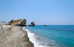 Chipre 2011 Roca del Aphrodite 4 Foto de archivo libre de regalías