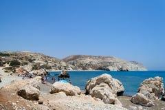 Chipre 2011 Roca del Aphrodite 6 Imágenes de archivo libres de regalías