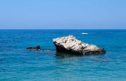 Chipre 2011 Roca del Aphrodite Imagenes de archivo