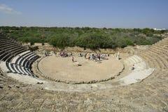 Chipre, salamis antiguos Fotografía de archivo libre de regalías
