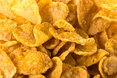 Chips. Crispy chips close up background Stock Photo
