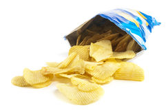 Chips stockbilder