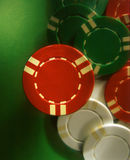 Chips. Gambling playing chips Stock Image