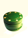 Chips. Stack of casino chips Royalty Free Stock Photos