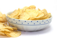 Chips for aperitif Royalty Free Stock Photos