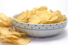 Chips for aperitif Royalty Free Stock Images