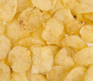 Chips as background Royalty Free Stock Images