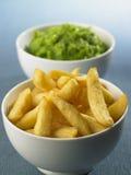 chips ärtor Arkivbilder