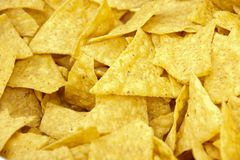 Chips background Stock Photography