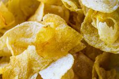 Chips Background Food Gourmet Crunchy fotos de stock royalty free