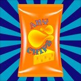 Chips Bag Royalty-vrije Stock Fotografie