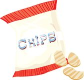 Chips Bag Stock Image
