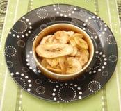 Chips of banana Royalty Free Stock Photo