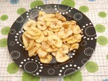 Chips of bananas Royalty Free Stock Photos