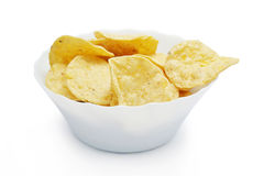 chips in bowl Stock Images