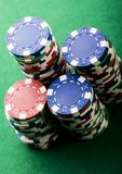 Chips & Casino Royalty Free Stock Images