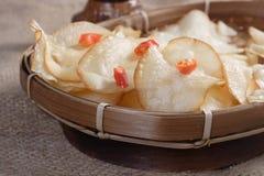 Chips Cassava Royalty-vrije Stock Afbeeldingen